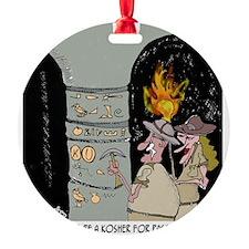 3959_kosher_cartoon Ornament