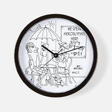 6761_archaeology_cartoon Wall Clock