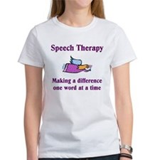 Speech Therapy Making A Diffe Tee