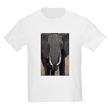 Elephant Face Kids T-Shirt