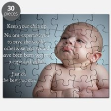 just do the best you can 8 x 10 Puzzle