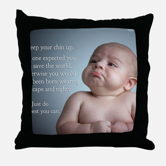 just do the best you can 8 x 10 Throw Pillow