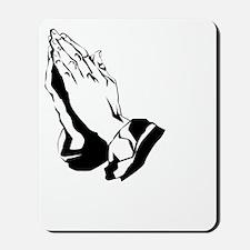 prayerdark2 Mousepad