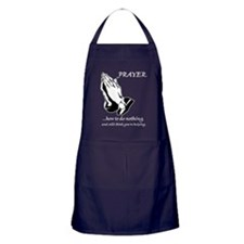 prayerdark2 Apron (dark)