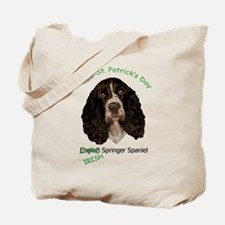 Irish Springer Spaniel w/ URL Tote Bag