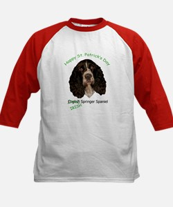 Irish Springer Spaniel w/ URL Kids Baseball Jersey
