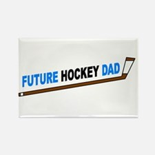 Future Hockey Dad Rectangle Magnet