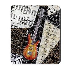 bass-guitar-ornament Mousepad