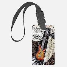 bass-guitar-ornament Luggage Tag