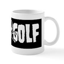 Sticker - Disc Golf Skull  Crossbones Mug