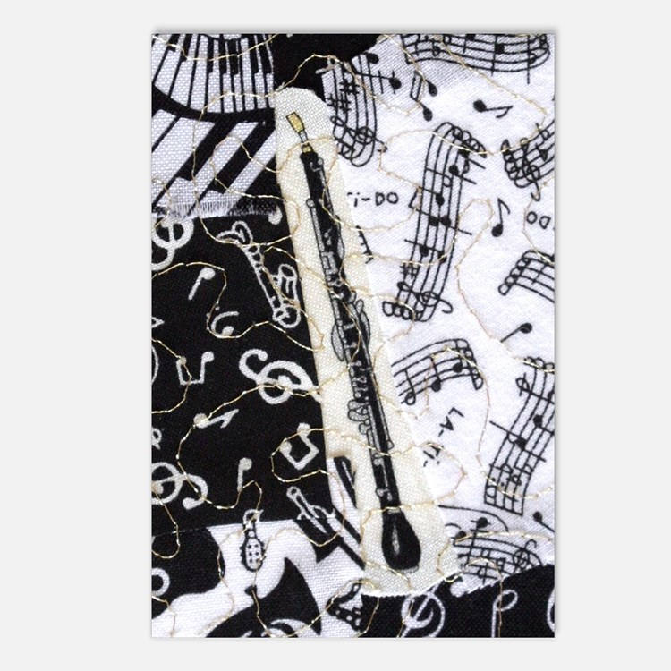 english-horn-ornament Postcards (Package of 8)
