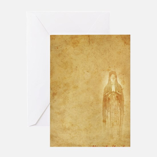Mary-inquisition Greeting Card