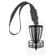 Sticker - Disc Golf Catcher Blac Luggage Tag