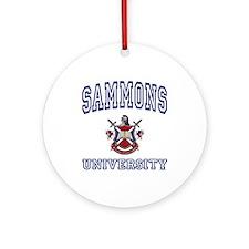 SAMMONS University Ornament (Round)
