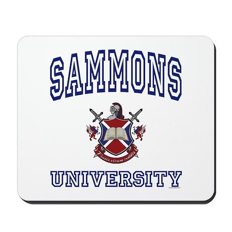 SAMMONS University Mousepad