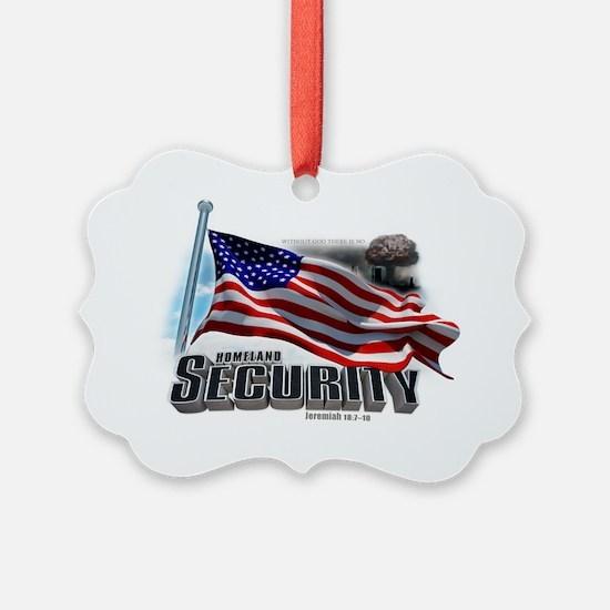 Homeland Security Ornament