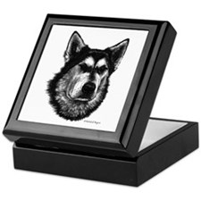 Alaskan Malamute Keepsake Box