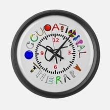 OT at work round Large Wall Clock