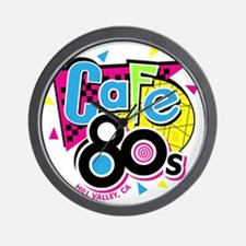 cafe80s Wall Clock