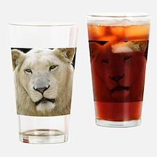 blonde lion note Drinking Glass