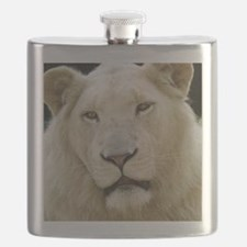 blonde lion note Flask
