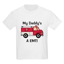 My Daddy's A EMT Kids T-Shirt