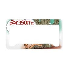 Seasons Greetings Senor Hsss License Plate Holder