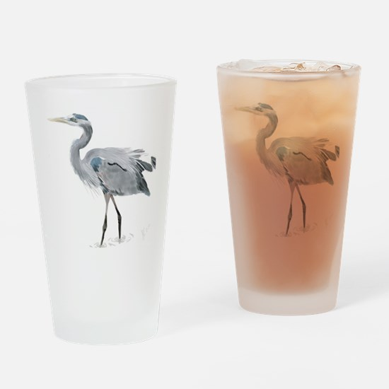 heron Drinking Glass