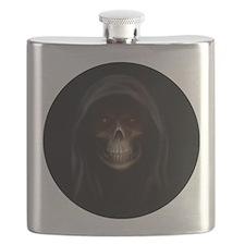 grim reaper pendent 1 Flask