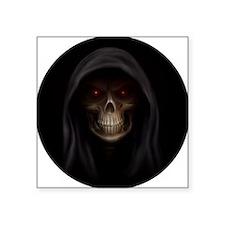 """grim reaper pendent 1 Square Sticker 3"""" x 3"""""""