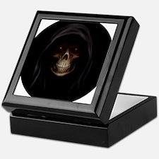 grim reaper pendent 1 Keepsake Box