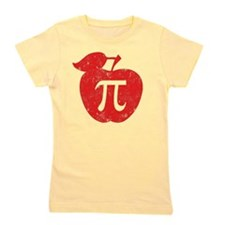 apple pie red Girl's Tee