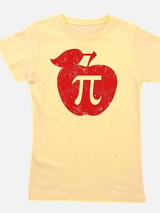apple pie red Girl's Tee