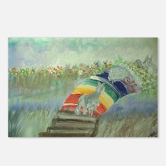 Rainbow14x10 Postcards (Package of 8)