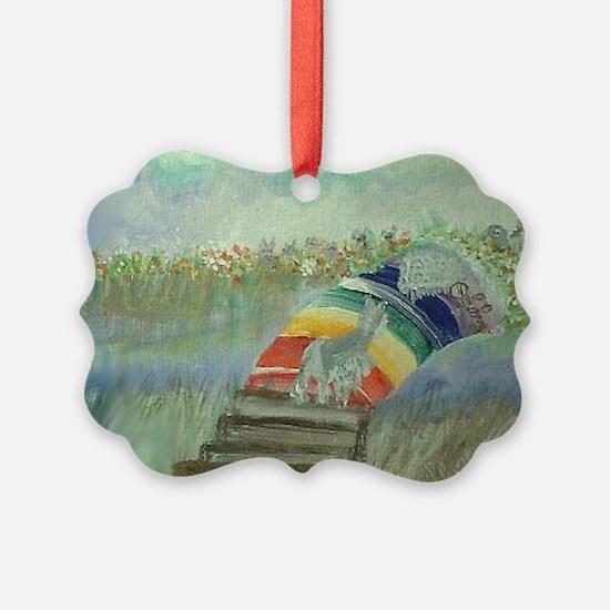 Rainbow14x10 Ornament