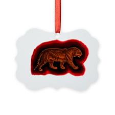 peters tiger tshirt Ornament