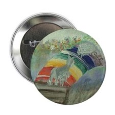 "Rainbow8x10 2.25"" Button"