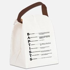 Baptists Canvas Lunch Bag