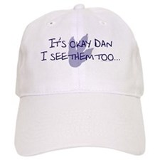 dino dan shirt light copy Baseball Cap