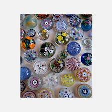 Glass-Balls-iPad 2 Throw Blanket