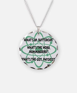 green, Buttercup Necklace