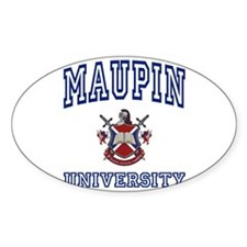 MAUPIN University Oval Decal