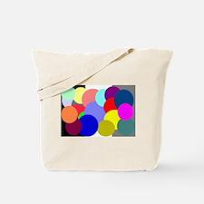 Color Balls Tote Bag