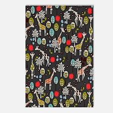 Giraffe Garden Postcards (Package of 8)