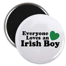 Everyone loves an irish boy Magnet