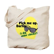 older chicks.gif Tote Bag