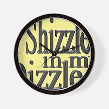 shizzle.gif Wall Clock