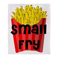 Small Fry.gif Throw Blanket