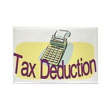 tax deduction.gif Rectangle Magnet