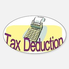 tax deduction.gif Decal